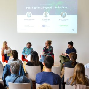 Fast Fashion Meetup moderated by Okan McAllister